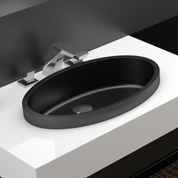 Ellisse XL FL | Wash basins | Glass Design