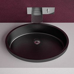 Ellisse FL | Wash basins | Glass Design