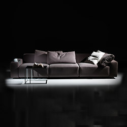 Square  | 3-seater sofa | Sofás lounge | Mussi Italy