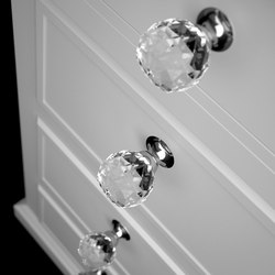 Geo Pull | Cabinet knobs | Glass Design