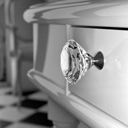 Deluxe Pull | Cabinet knobs | Glass Design
