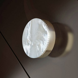 Perla Lux | Cabinet knobs | Glass Design