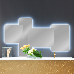 Scomposti Mirror | Espejos de pared | Arlex Italia