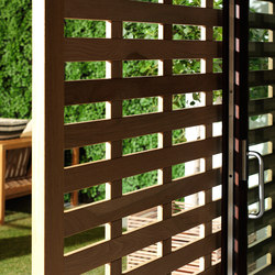 ISAM Wood Sunscreen | Sliding systems | ISAM
