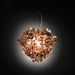 Veli Copper suspension large | General lighting | Slamp