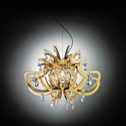 Lillibet Gold suspension | Suspended lights | Slamp