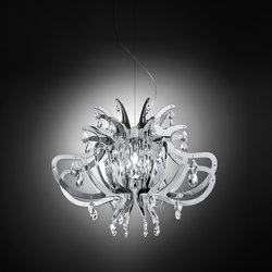 Lillibet Silver suspension | Suspended lights | Slamp