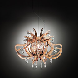 Lillibet Copper suspension | Éclairage général | Slamp