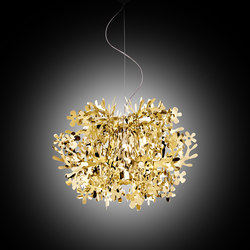 Fiorella Mini Gold suspension | Iluminación general | Slamp