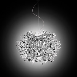 Fiorella Mini Silver suspension | Iluminación general | Slamp
