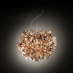 Fiorella Mini Copper suspension | Suspended lights | Slamp