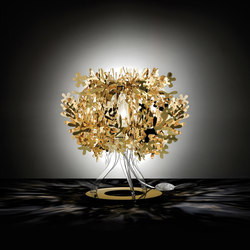 Fiorellina Gold table | Table lights | Slamp