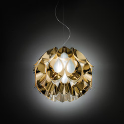 Flora Gold suspension medium | General lighting | Slamp