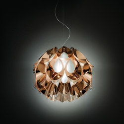 Flora Copper suspension medium | General lighting | Slamp