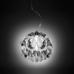 Flora Silver suspension small | Suspended lights | Slamp