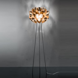 Flora Copper floor | Illuminazione generale | Slamp