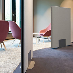 Mobile partition solutions | Privacy screen | acousticpearls