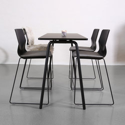 Four Real 90 / 105 | Tables mange-debout | Four Design