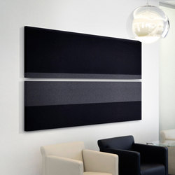 No. 01 Back to Black | Sound absorbing wall art | acousticpearls