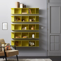 Arda | Wall shelves | Capo d'Opera