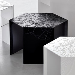 Exagon | Side tables | Capo d'Opera
