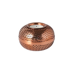 Hilda Tea Light copper | Candelabros | Louise Roe