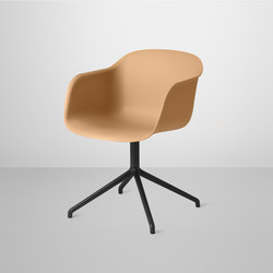 Fiber Armchair | swivel base | Visitors chairs / Side chairs | Muuto