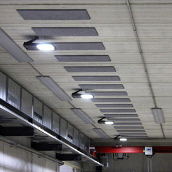 METRO Aula LED-Hallenbeleuchtung | Outdoor ceiling lights | BURRI