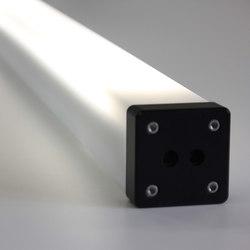 Rectangular Rechteckrohrleuchte | Wallwasher LED | BURRI