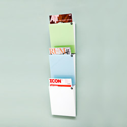 CHAT board® Magazine Rack | Notice boards | CHAT BOARD®