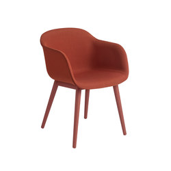 Fiber Armchair | wood base upholstered | Chairs | Muuto