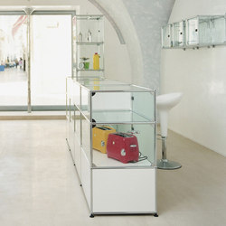 USM Haller Glass showcase | Display cabinets | USM