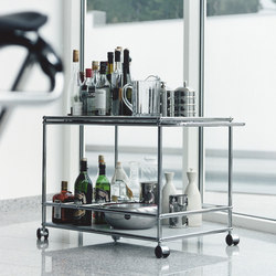 USM Haller Serving Cart | Tea-trolleys / Bar-trolleys | USM