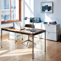 USM Haller Table | Natural Oeak | Contract tables | USM