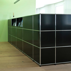 USM Haller Reception station | Cabinets | USM