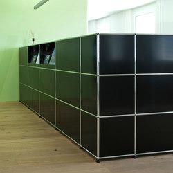 USM Haller Reception station   Cabinets   USM