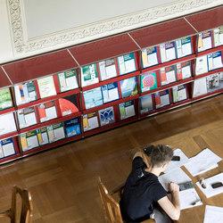 USM Haller Storage | Estanterías para bibliotecas | USM