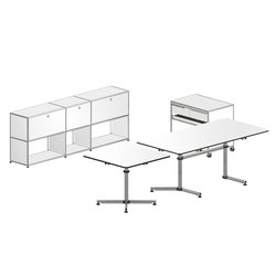 USM Haller Executive workstation 2 | Caissons | USM