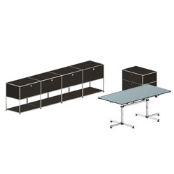 USM Haller Executive workstation 5 | Sideboards | USM