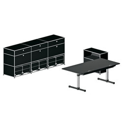 USM Haller Individual workstation 3 | Sideboards | USM