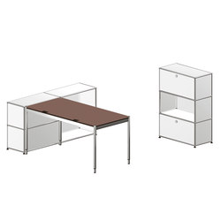 USM Haller Individual workstation 4 | Sideboards | USM