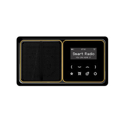 Smart Radio CD plus | Sound / Multimedia controls | JUNG