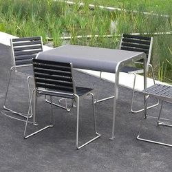 Impetus Tisch | Mesas de comedor de jardín | BURRI