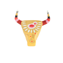 Goyescas Cabeza Toro Yellow 1 | Objects | GAN