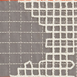 Bandas Single Rug A Grey 11 | Formatteppiche | GAN