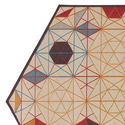 Hexa Rug Orange 1 | Rugs / Designer rugs | GAN