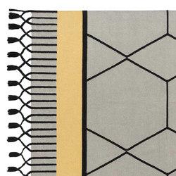 Lima Rug Blue 1 | Formatteppiche / Designerteppiche | GAN