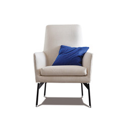 Level 770 Armchair high | Lounge chairs | Vibieffe
