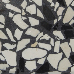 Eco-Terr Slab Black Sea polished | Panneaux en pierre naturelle | COVERINGSETC