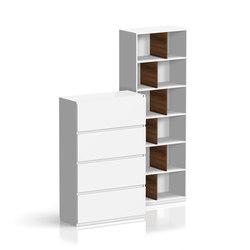 Intavis Storage system | Éléments de séparation | Assmann Büromöbel